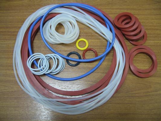 Кольца силиконовые