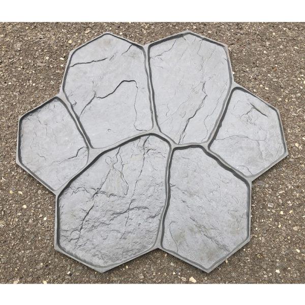 Штамп для печатного бетона Рваный камень F3011А