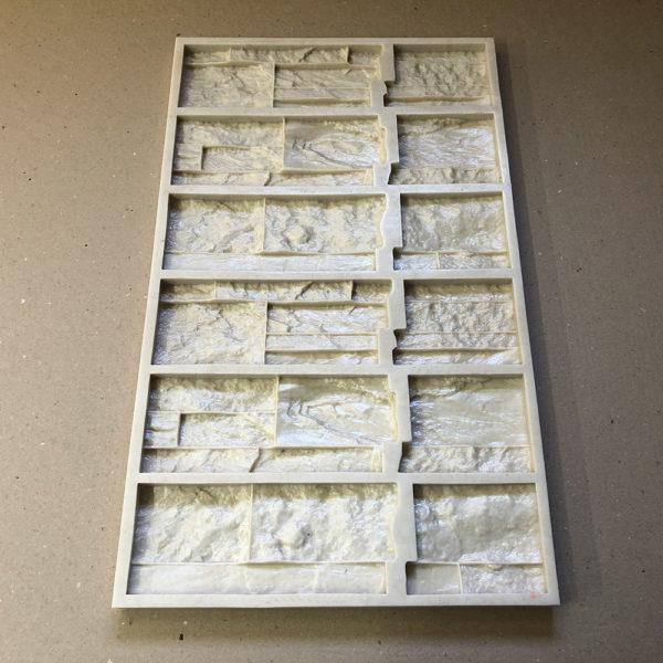Полиуретановая форма Сланец Карпатский Угол составной F620D