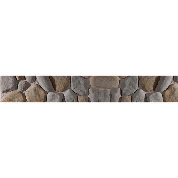 Готовая форма для декоративного камня Речной камень F510A
