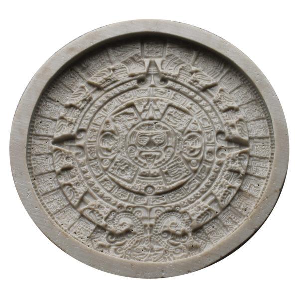 Полиуретановая форма для панно Календарь Майя F2110