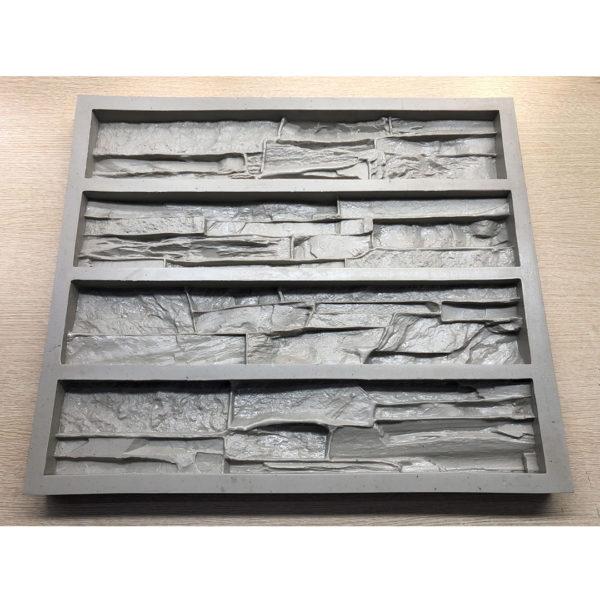 Полиуретановая форма для декоративного камня Сланец Скала F160C