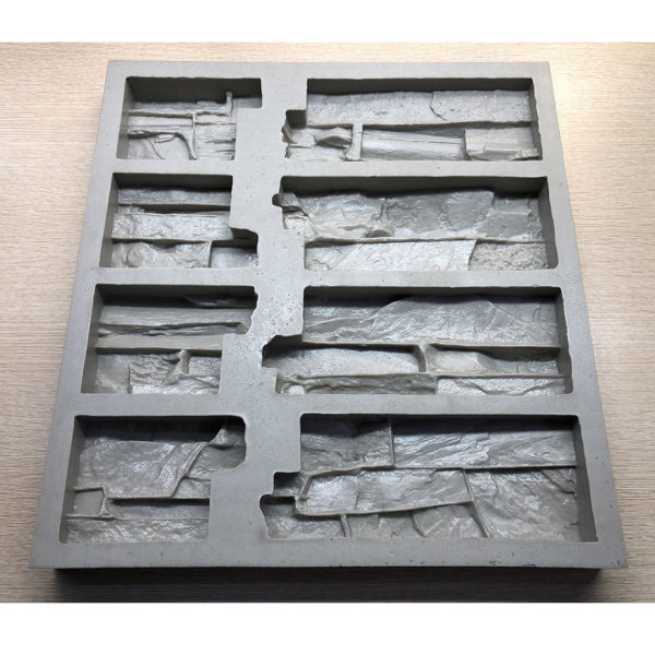 Полиуретановая форма для декоративного камня Сланец Скала Угол составной F160G