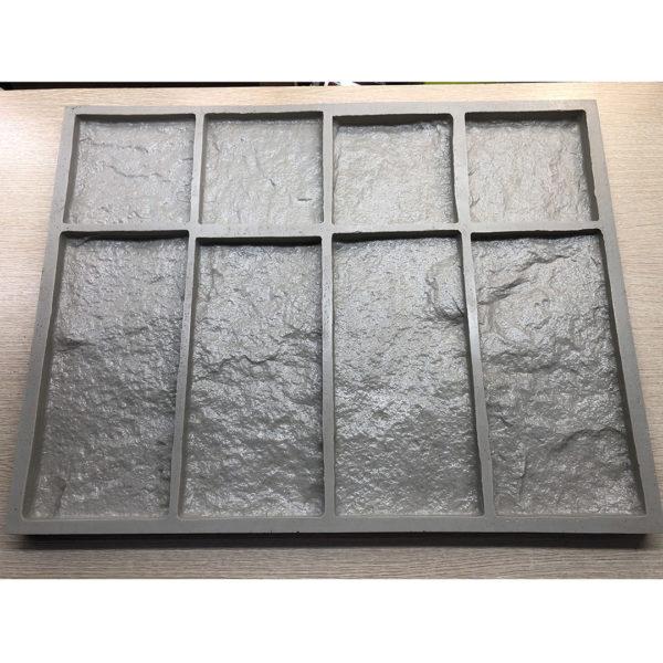 Полиуретановая форма для декоративного камня Шинон F240A