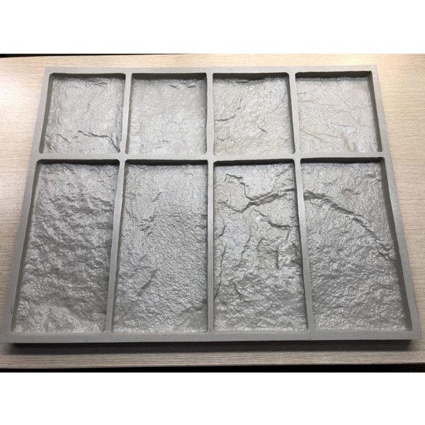 Полиуретановая форма для декоративного камня Шинон F240F