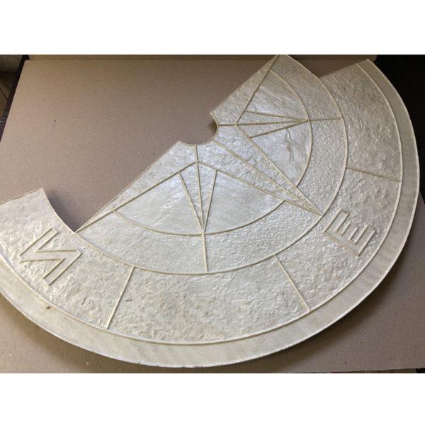 Готовый штамп для декоративного бетона Роза ветров F3240B