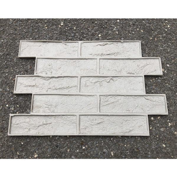 Полиуретановый штамп для печатного бетона Старый кирпич F3271