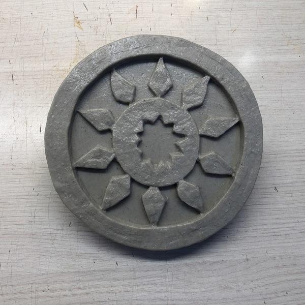 Полиуретановый штамп для печатного бетона Славянские символы F3350D