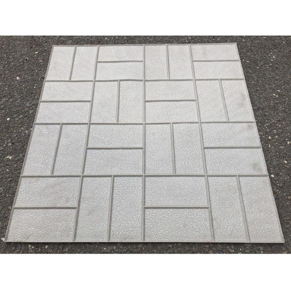 Полиуретановый штамп для печатного бетона 8 Кирпичей F3381
